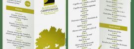 Carta del Bar Restaurante La Almazara Campopineda